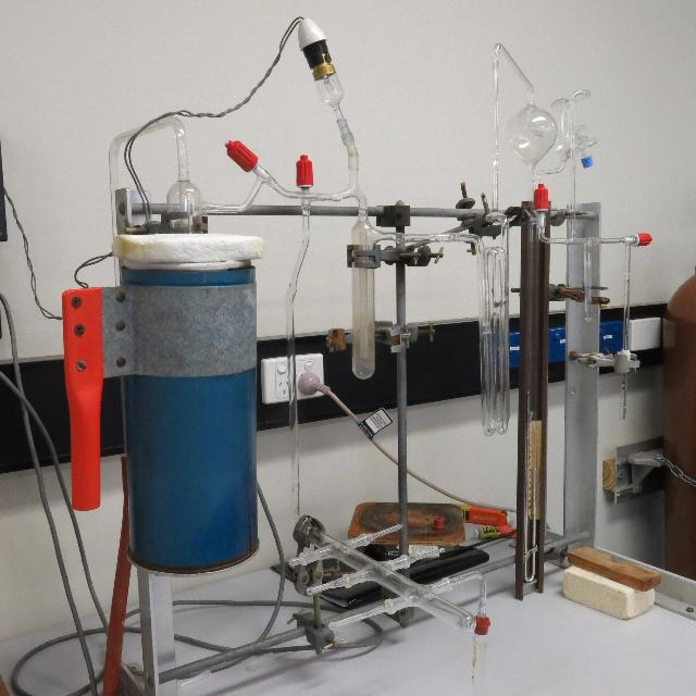 The carbonate extraction line