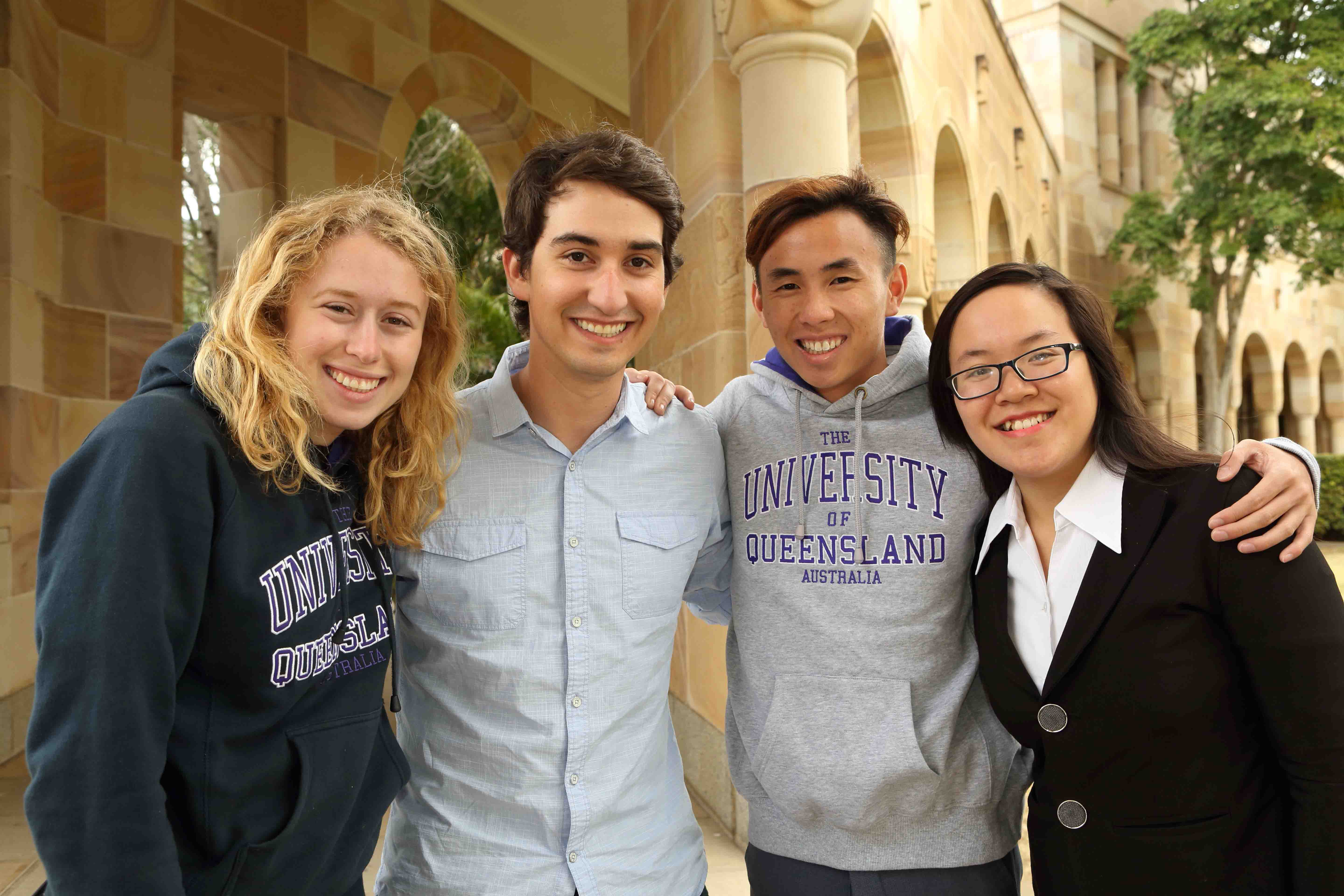 UQ international students
