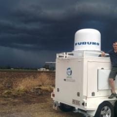 Dr Joshua Soderholm undertook a two-year field campaign to help develop his thunderstorm map